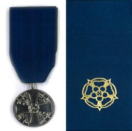 Suomen Valkoisen Ruusun I luokan mitali (SVR M I)
