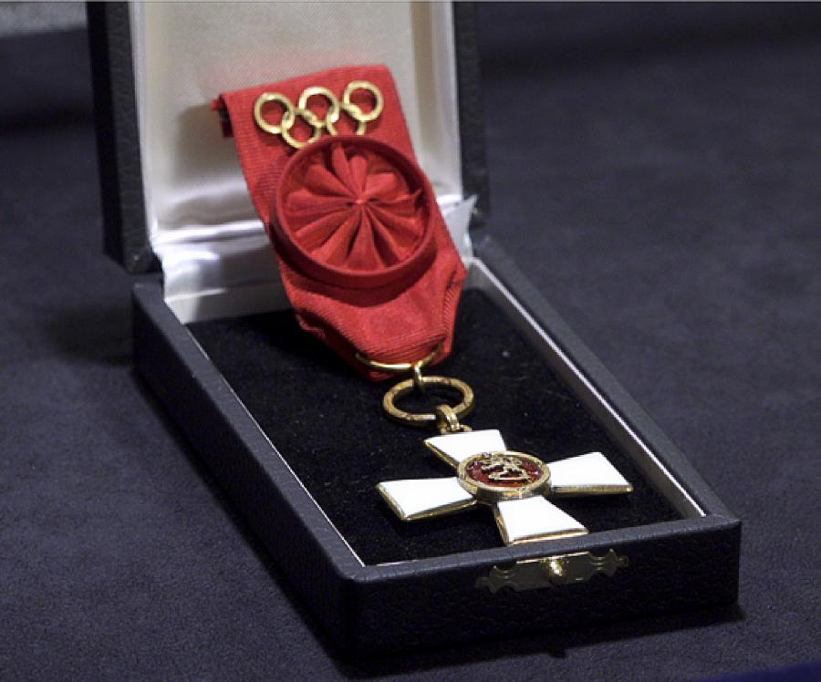 1967 SL:n I luokan ritarimerkki solkineen olympiavoittajille