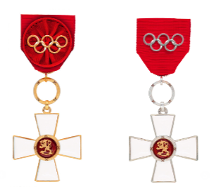 Suomen Leijonan I ja II luokan ritarimerkki