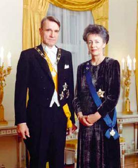 Tasavallan presidentti ja rouva Koivisto
